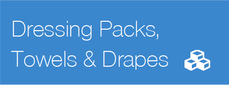 Dressing Packs, Towels & Drapes