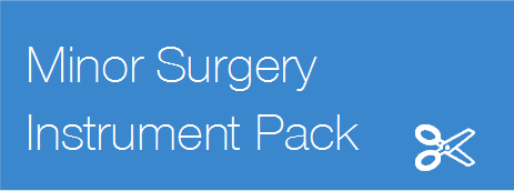 Minor Surgery Instrument Pack
