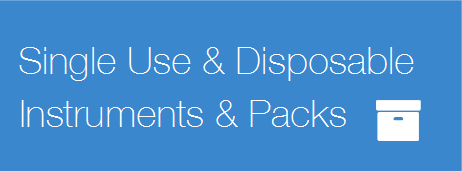 Single Use & Disposable Instruments/Packs
