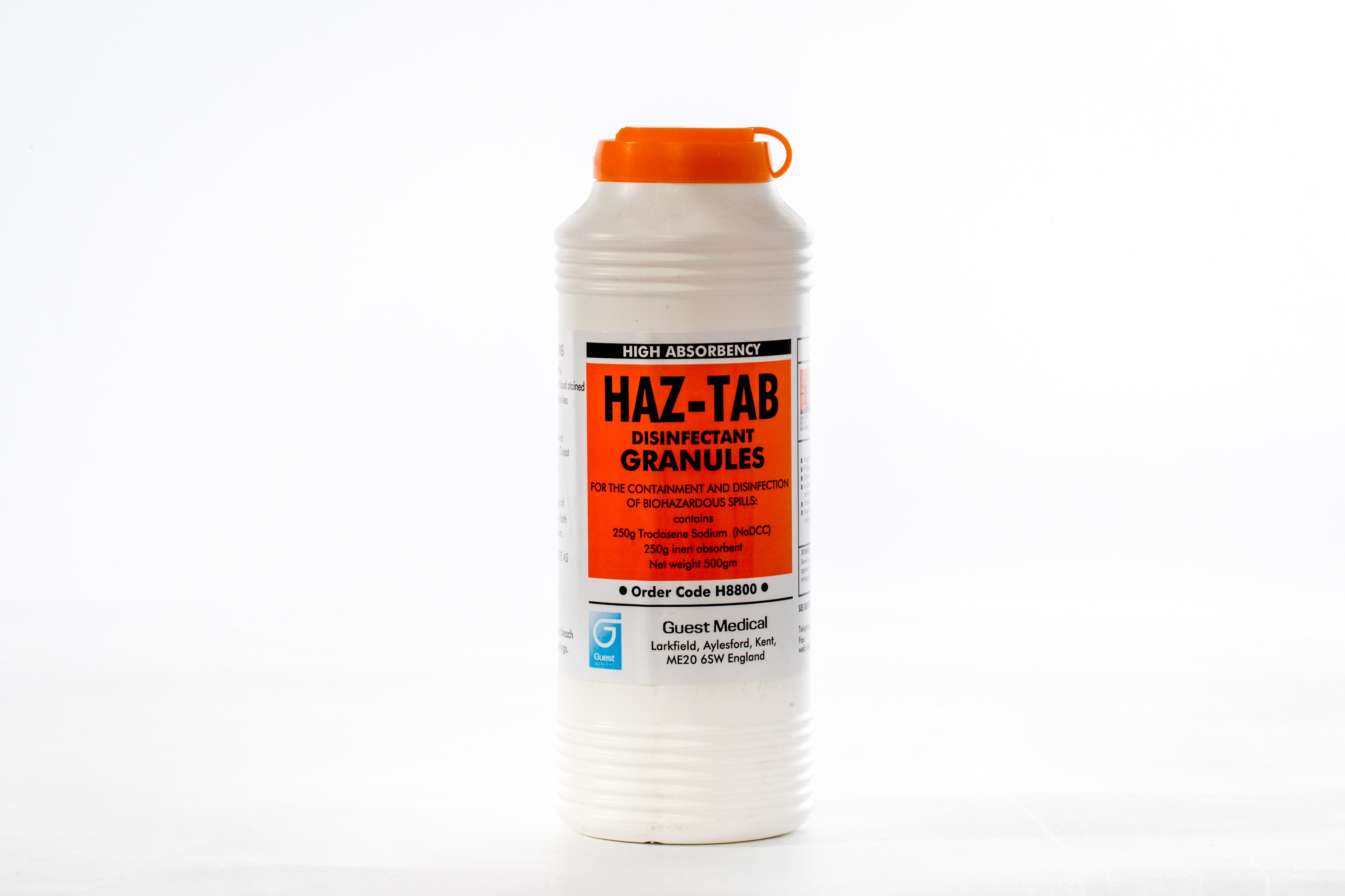 Disinfectant Granules - Haz-Tab - High Absorbancy - 500g