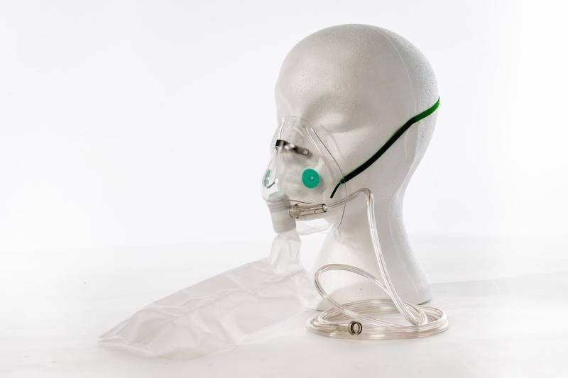 Oxygen Mask - Non-rebreathing (incl. Bag etc) - Adult or Child