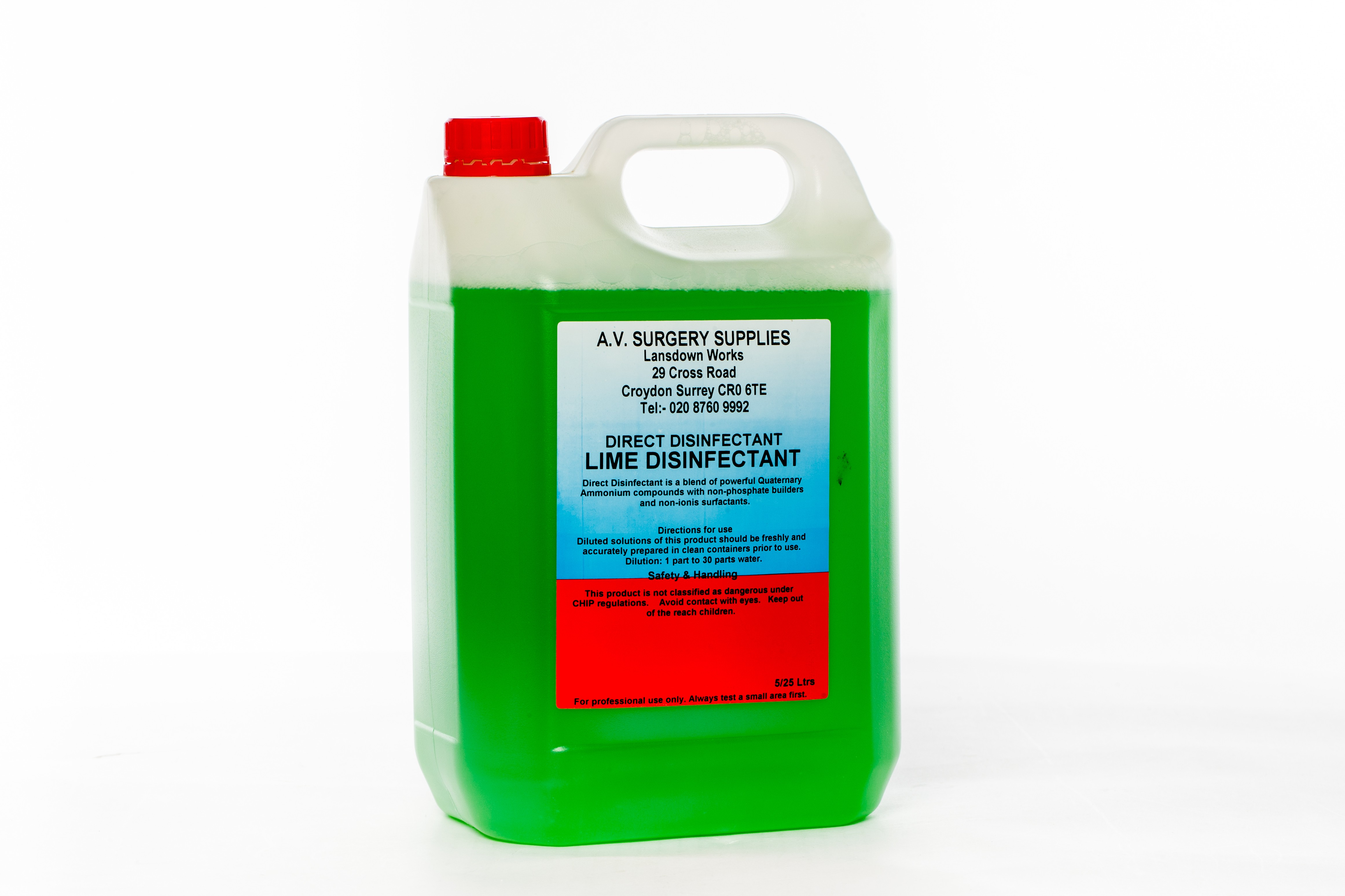 Lime Disinfectant 5Ltr