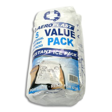 Ice Pack - Instant - 23.5 x 12cm (Pack of 5)