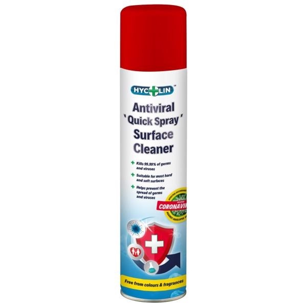 Multi Surface Spray - Hycolin Antiviral Quick Spray - 300ml