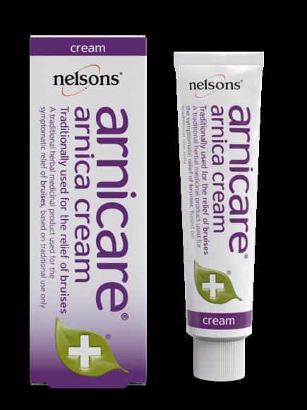 Arnica Cream - Nelsons - 50g tube