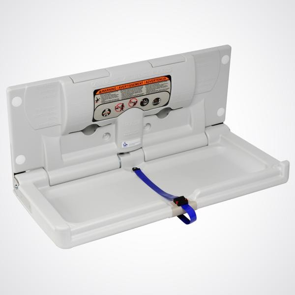 Dolphin Horizontal Nappy Changing Unit BC100EH (open)