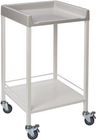 Instrument trolley with guard rails - CA4121