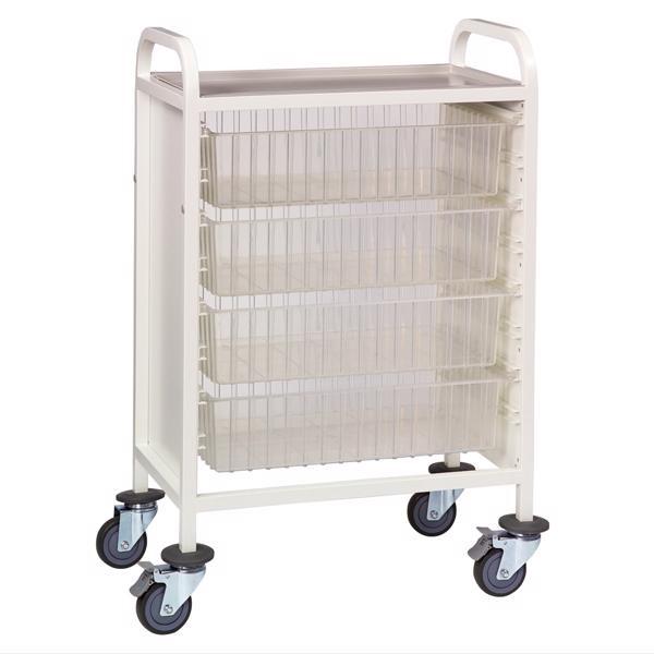 Multi-Store single width procedure trolley - CA42024D
