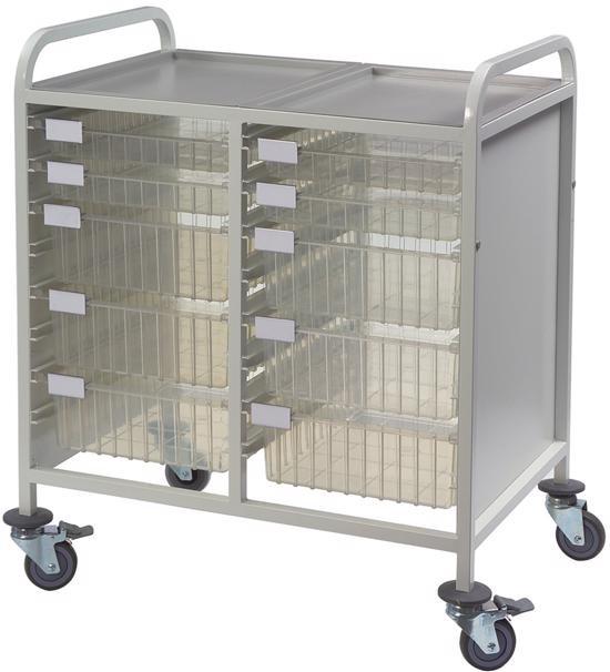 Multi-Store double width procedure trolley - CA42228D