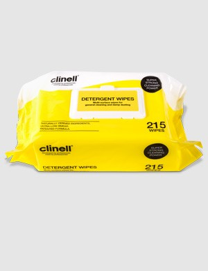 Detergent Wipes - Clinell (Yellow/White) x215