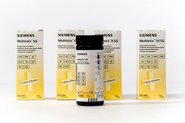 Diagnostic Test Strips - Multistix - 4 Types