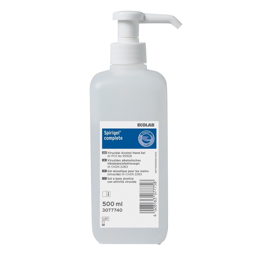 Hand Rub - Alcohol Gel - Worktop Pump 500ml (Spirigel)