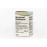 Diagnostic Test Strips - Accutrend Cholesterol (x 250)