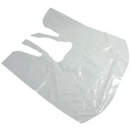 Ear Syringe Cape - Polythene - Disposable x 100