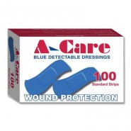 Plasters - Blue - 2 Sizes (incl Assorted)