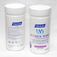 Disinfectant Wipes - Clarisan Alcohol (Tub of 200)