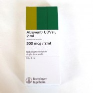 Atrovent 500mcg/2ml Nebuliser Liquid UDV (x20)