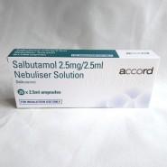 Salamol (Salbutamol) Nebuliser Liquid Steri-Neb Unit Dose Vials - 2 Sizes