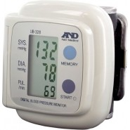 Blood Pressure Monitor - Digital - Fully Auto Wrist (A&D)