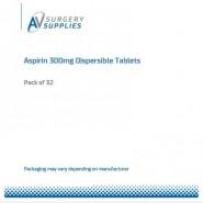 Aspirin 300mg Dispersible Tablets (X32)