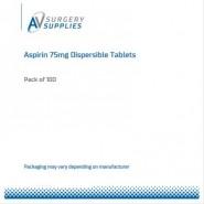Aspirin 75mg Dispersible Tablets (X100)
