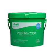 Sanitising Wipes - Clinell Universal - Bucket x225