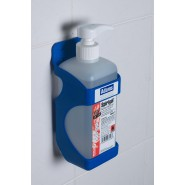 Dispenser - Square Santiser Bottle - Ecolab Spirigel - Wall Mount