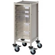 Multi-Store slimline procedure trolley - CA41022S3D