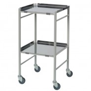 Reversible shelf, anti-bacterial dressing & instrument trolley - CA4141