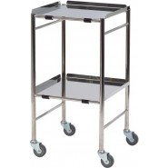 Reversible shelf, s/steel, dressing & instrument trolley - CA4181