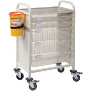 Multi-Store phlebotomy trolleys - CA4202P4D