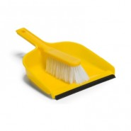 Dustpan & Siff Brush Set - Yellow