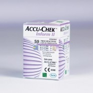 Diagnostic Test Strips - Accu-Chek Inform II (with chip) x50