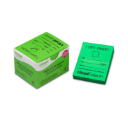 Indicator Notes - Clinell (Green 'I Am Clean') Pack 4x250