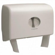 KC Aquarius Twin Mini Jumbo T/roll dispenser - 6947