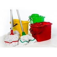 Mop Heads, Handles & Buckets (Hygiemix) - 4 Colours