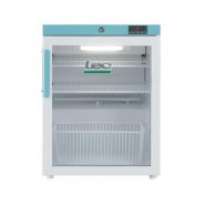 LEC 82L countertop pharmacy fridge with glass door - PG207C