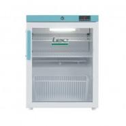 LEC 82L countertop pharmacy fridge with glass door - PG207C