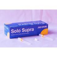 Dental Needles, Solo 27G Long, Plastic Hub - 0.40 x 35mm (x 100)