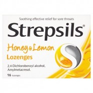 Strepsils Honey & Lemon Lozenges  (x24)