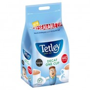Tea Bags - Tetley One Cup Decaffeinated (Pack of 440)