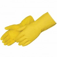 Gloves - Rubber, Household (12 pairs per pack)